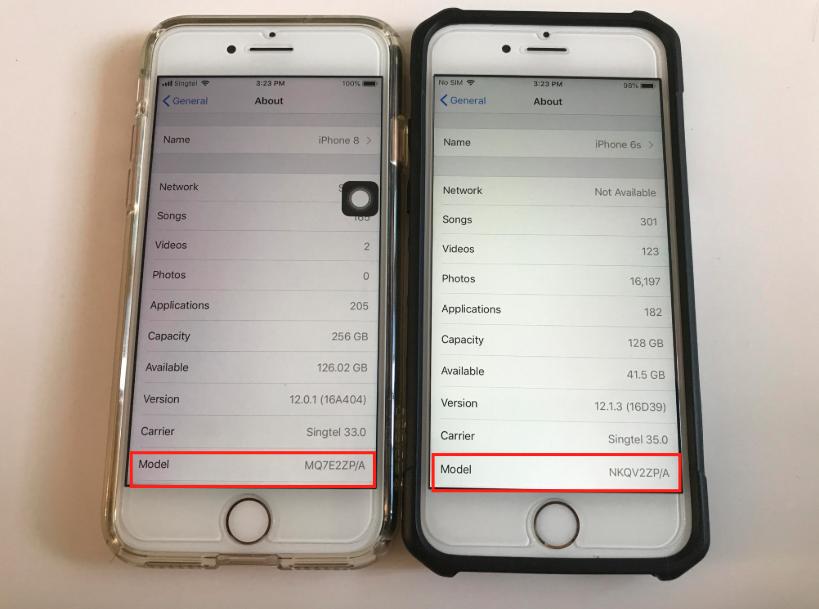 Saber si iPhone es refurbished