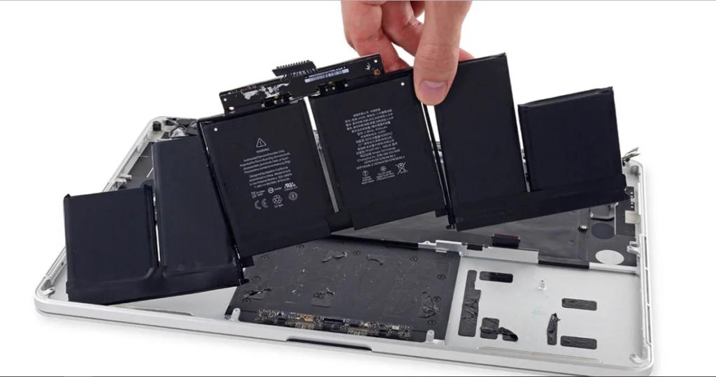 Cambiar batería de Macbook