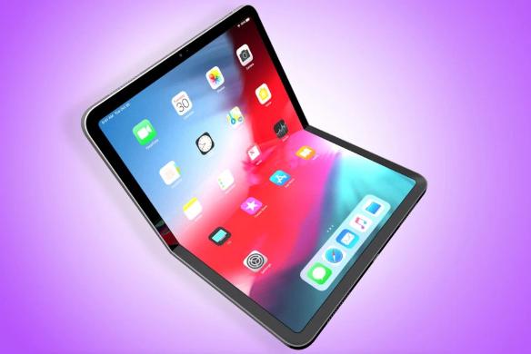 Maqueta de dispositivo plegable de Apple