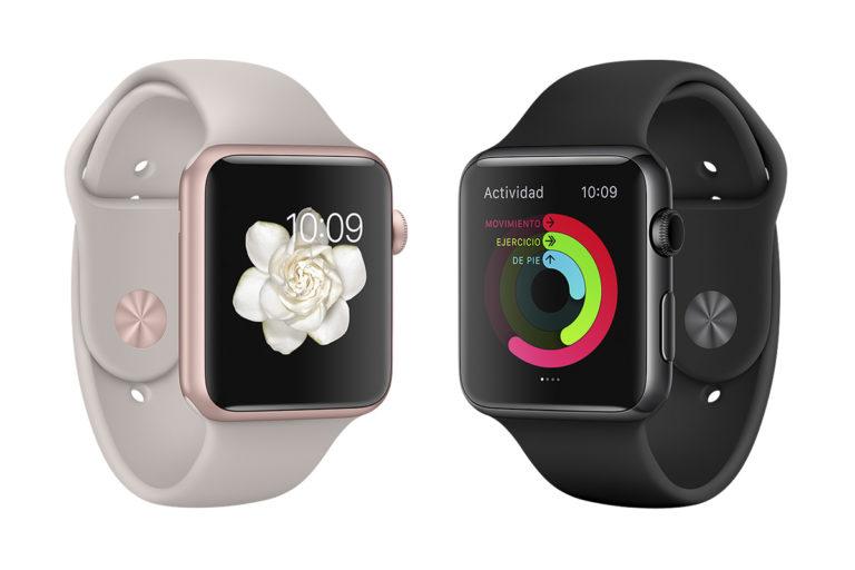 Programa de reemplazo para Apple Watch serie 2 y 3