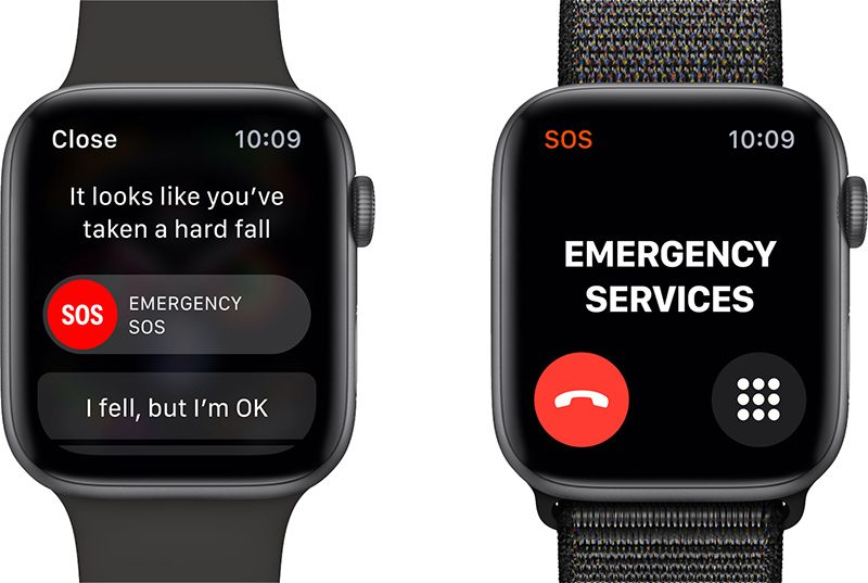 Emergencia en el Apple Watch