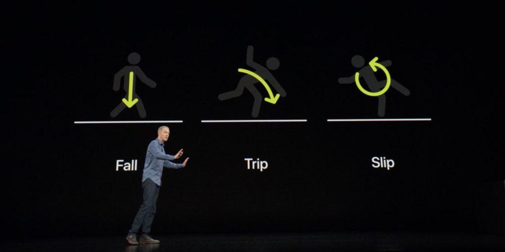 Detector de caídas Apple Wacth