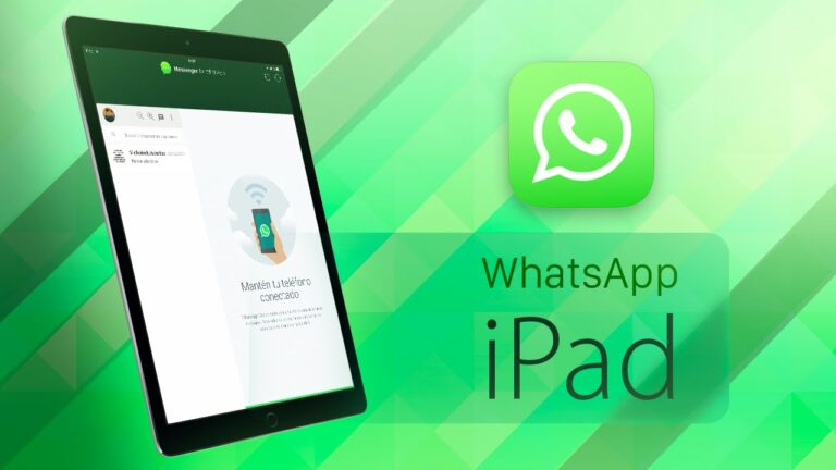 WhatsApp para iPad será una realidad