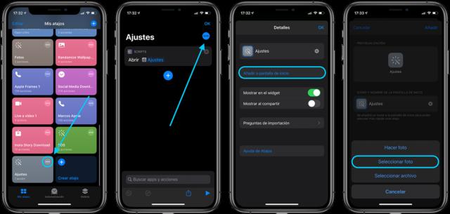 cambiar los íconos de las apps en el iPhone