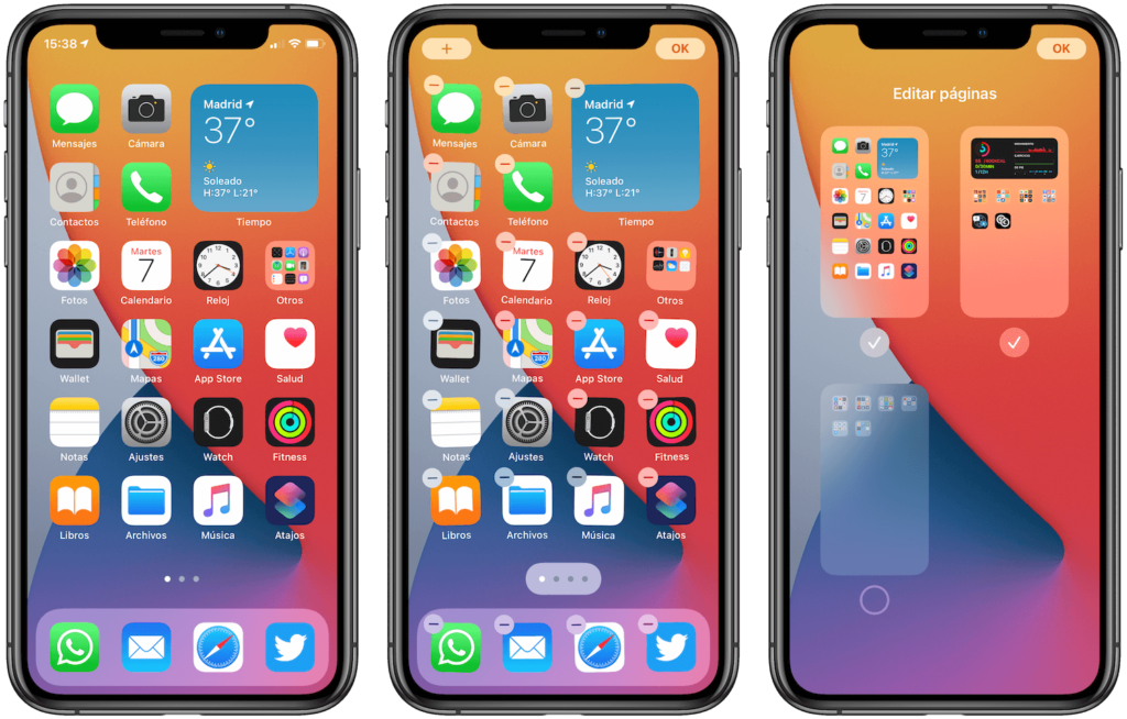 Ventanas de apps en IOS 14