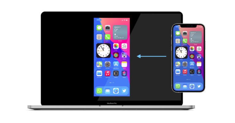 Cómo ver la pantalla del iPhone/iPad en el Mac