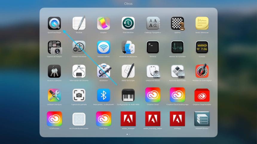 ver la pantalla del iPhone/iPad en el Mac