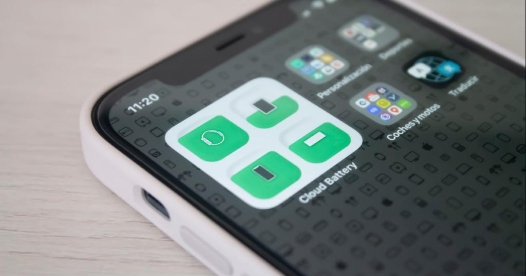 widget en el iPhone